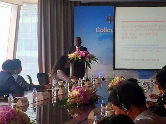 恒道国际与刚果民主共和国前总理对话中非商贸物流供应链